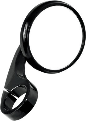 TODD'S CYCLE CLAMP-ON SHOOTER MIRRORS MIRROR SHTR C/O 7/8 BLK