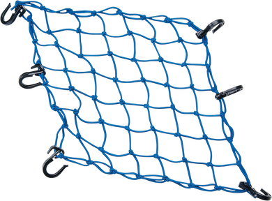 POWERTYE MFG. ADJUSTABLE CARGO NETS CARGO NET ADJ. BLUE
