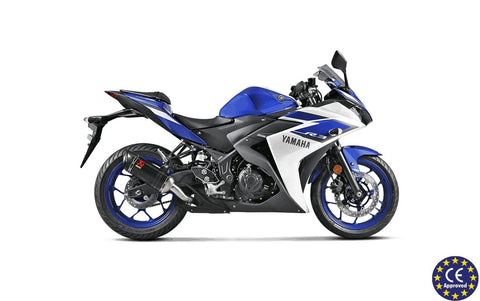 Escape Akrapovic Slip-On Line Para Yamaha YZF-R25 14-15