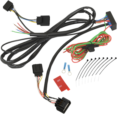 SHOW CHROME TRAILER HARNESS TRAILER WIRE HARNESS GL18