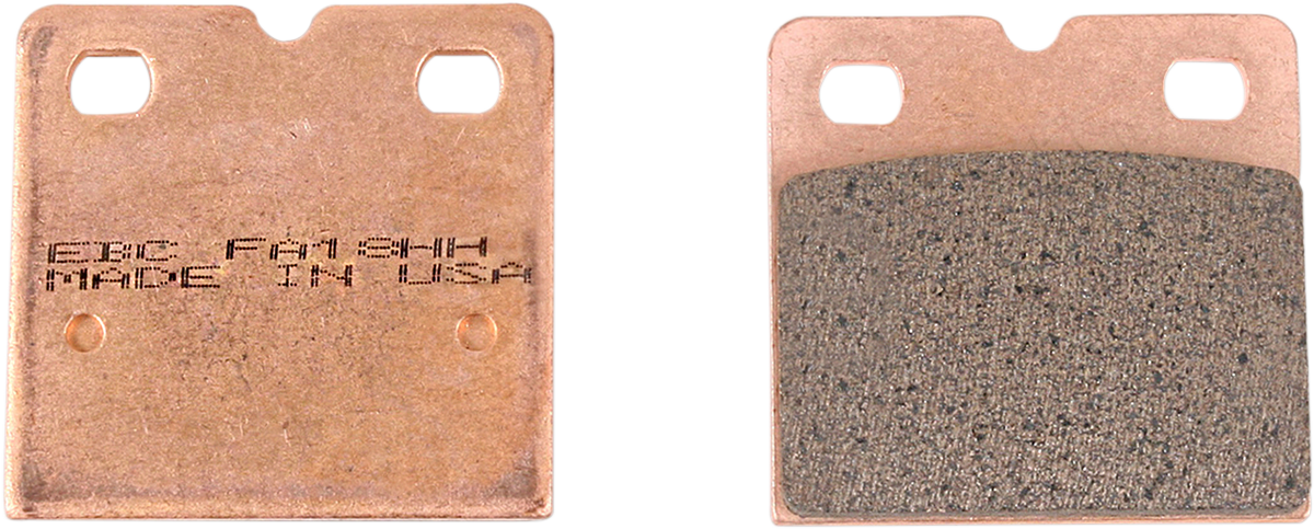 EBC BRAKE PADS AND SHOES EBC DOUBLE H PAD SET