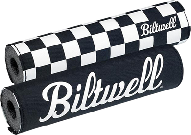 BILTWELL REVERSIBLE MOTO BAR PAD PAD CROSSBAR BW CHECKR