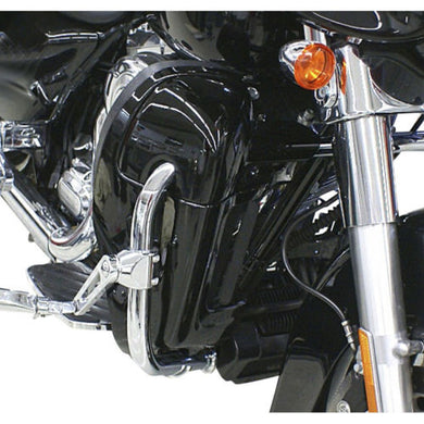 Kit Carenado Inferior Para Harley-Davidson® Vented Fairing Lower Kit Vivid Black