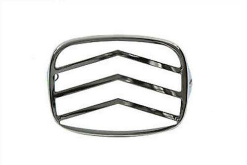 Lens Grill V Style Chrome For Harley-Davidson