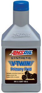 Aceite Primaria Amsoil Synthetic V-Twin Primary Fluid For Harley-Davidson 1Q