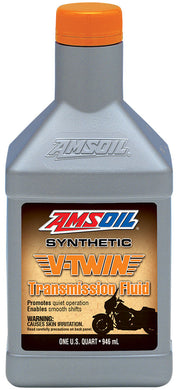 Une huile Amsoil Synthetic V-Twin Transmission Fluid For Harley-Davidson 1Q (946ml)