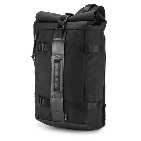 Bolsa Mochila Icon 1000 Slingbag Black Motorcycle Backpack 3517-0436 Molle