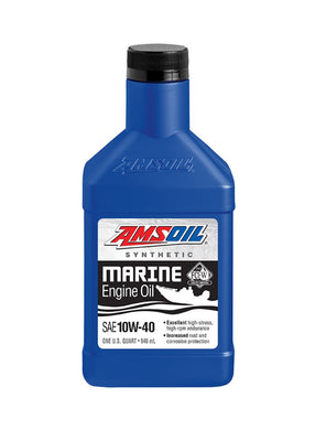 Aceite Nautica Amsoil 10W-40 Synthetic Marine Engine Oil 1Qt (946 ml)