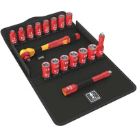 Wera 05004970001 Zyklop Insulated Ratchet-Set VDE 1000V