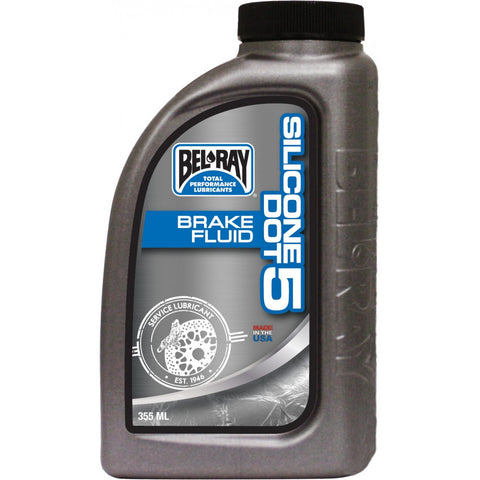 Liquido De Frenos DOT 5 Bel-Ray Silicone Dot 5 Brake Fluid 355ml