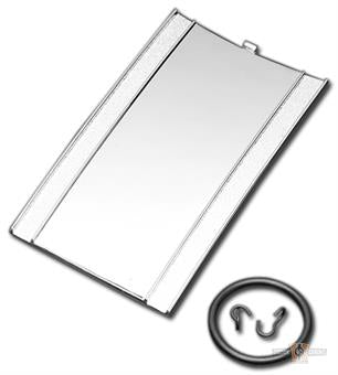 Panel Deposito Para Harley-Davidson 1968-1999 Chrome Tank Dash Panel
