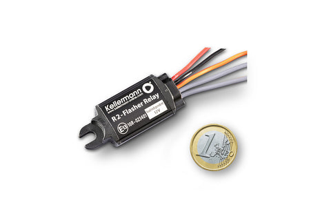 Ecualizador Rele Intermitencia LED Y Convencionales Kellermann Flasher Relay R2