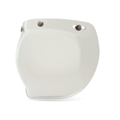 Visera Pantalla Burbuja Para Casco Bell 7018132 Bubble Shield Clear 3-Snap