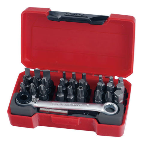 Mini Carraca Con Puntas Profesional Teng Tools Ratcheting Bits Driver Set