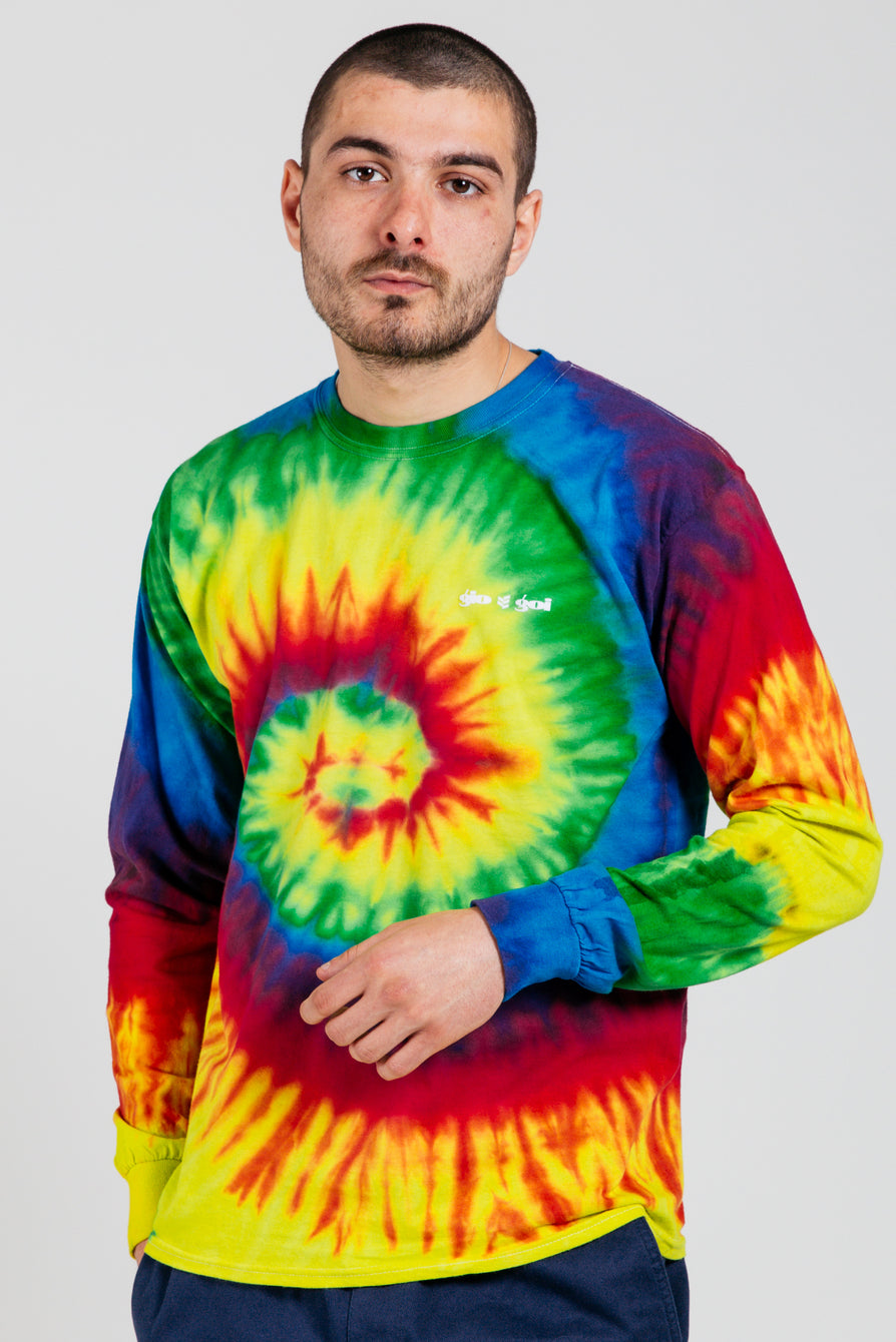 Gio Goi Tie-Dye Fête Long Sleeve Tee Multi Main