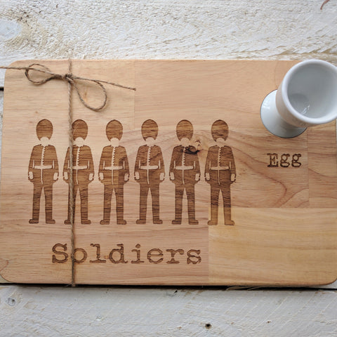 Personalised Egg & Soldiers Board