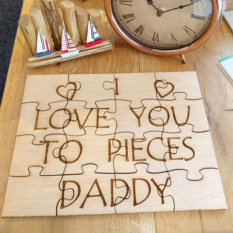 Personalised Wooden Jigsaw