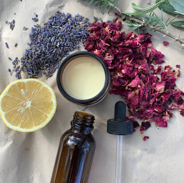 Beneficial ingredients in natural skincare