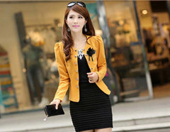 New Fashion slim blazer clothing  short design
