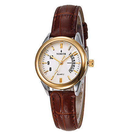 Luxury Watches Women Wrist Leather
