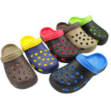 Fashion Male Men's Sandals Anti-Slip Hole Slippers Home Garden