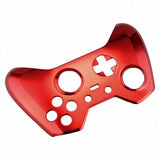 Brand New Xbox One Elite Custom Chrome Red Front Shell Hydrodipped by Primzstar