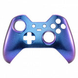 Brand New Xbox One Elite Custom Chameleon Blue & Purple Front Shell Hydrodipped