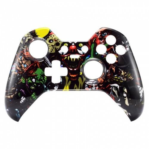 Brand New Xbox One Elite Custom Scary Horror Front Shell Hydrodipped by  Primzsta