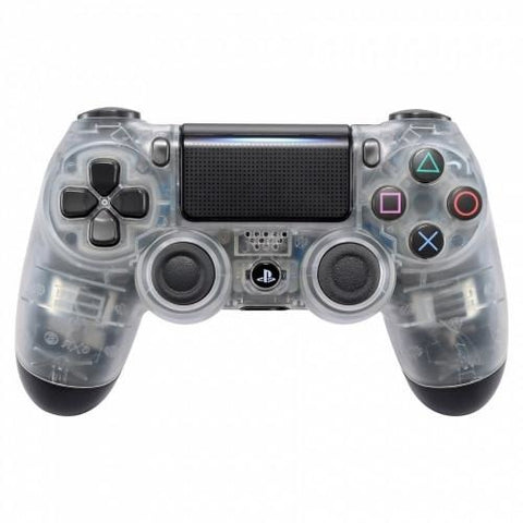 Official PS4 Controller V2 Custom Crystal Clear/Transparent