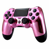 Official PS4 Controller V2 Custom Chrome Pink Themed