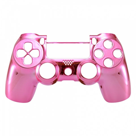 Brand New PS4 Slim/Pro JDS 040 V2 Controller Chrome Pink Custom Front Shell