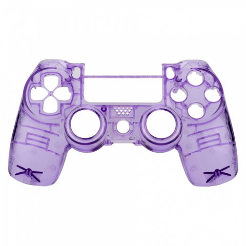Brand New PS4 Slim/Pro JDS 040 V2 Controller Crystal Purple Custom Front Shell