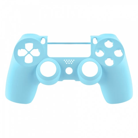 Brand New PS4 Slim/Pro JDS 040 V2 Controller Soft Touch Sky Blue Custom Front Shell