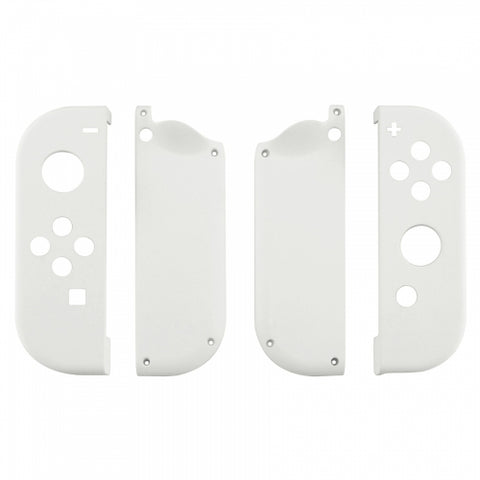 Nintendo Switch Joy-Con Controller Soft Touch White Custom Shell