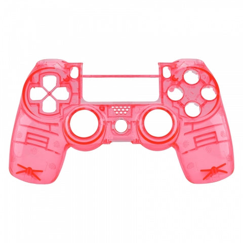 Brand New PS4 Slim/Pro JDS 040 V2 Controller Crystal Pink Custom Front Shell