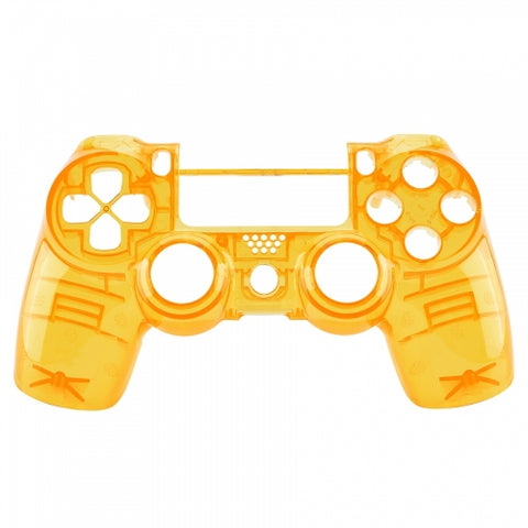 Brand New PS4 Slim/Pro JDS 040 V2 Controller Crystal Yellow Custom Front Shell