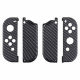Nintendo Switch Joy-Con Controller Soft Touch Carbon Fibre Custom Shell