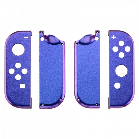 Nintendo Switch Joy-Con Controller Chameleon Blue and Purple Custom Shell