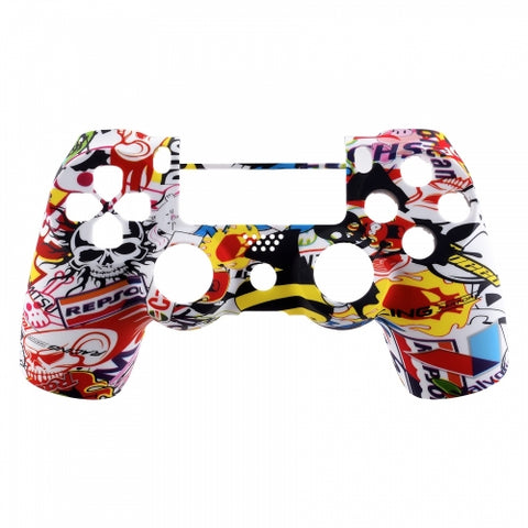 Brand New PS4 Slim/Pro JDS 040 V2 Controller Stickerbomb Custom Front Shell