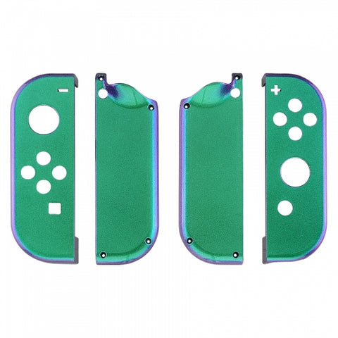 Nintendo Switch Joy-Con Controller Chameleon Green & Purple Custom Shell