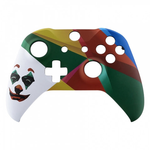 Brand New Xbox One S Custom Joker Face Front Shell Hydrodipped by Primzstar Modz