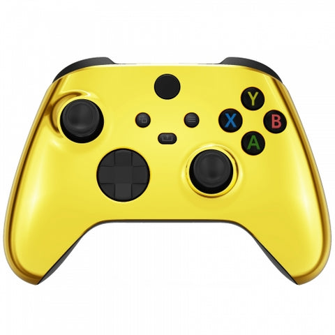 Chrome Gold Themed Xbox Series X/S Custom Controller