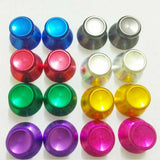 2x Aluminium Alloy Metal Thumbsticks Analog Sticks Grip Button for Sony PS4