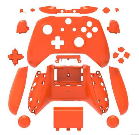Brand New Xbox One S Controller Orange Custom Replacement Full Shell