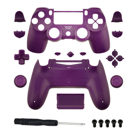 Brand New PS4 Slim/Pro JDS 040 V2 Controller Purple Custom Replacement Full Shel