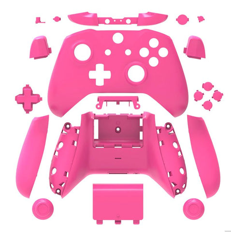 Brand New Xbox One S Controller Pink Custom Replacement Full Shell