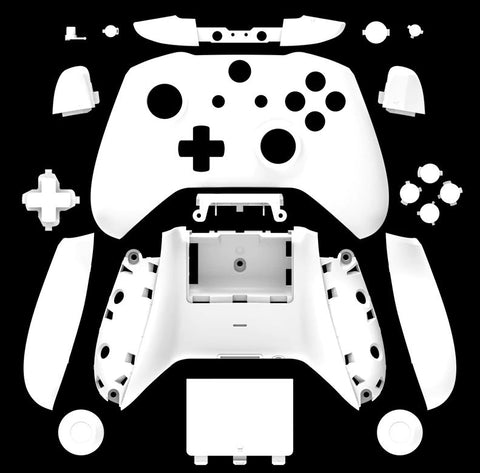 Brand New Xbox One S Controller White Custom Replacement Full Shell