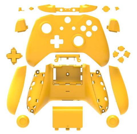 Brand New Xbox One S Controller Yellow Custom Replacement Full Shell