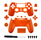 Brand New PS4 Slim/Pro JDS 040 V2 Controller Orange Custom Replacement Full Shel