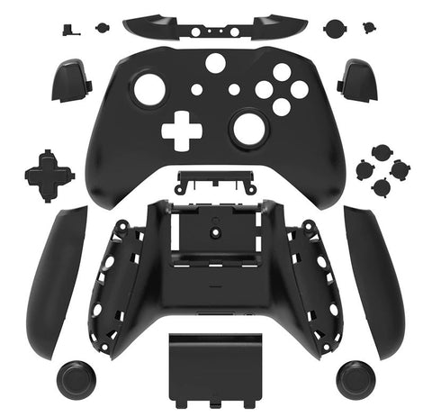 Brand New Xbox One S Controller Black Custom Replacement Full Shell